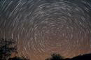 20101006_Startrails of Mt_Papyeung.jpg