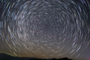 운이덕의 일주, startrails at Wooniduck